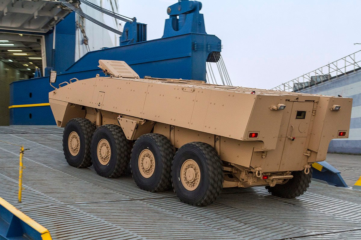 IDEX 2019; Patria AMV XP shows increased lethality - EDR