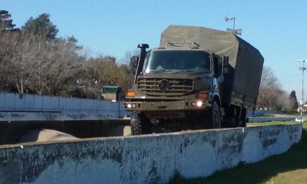 Mercedes-Benz company made a practical demonstration of  Zetros off-road truck in Argentina