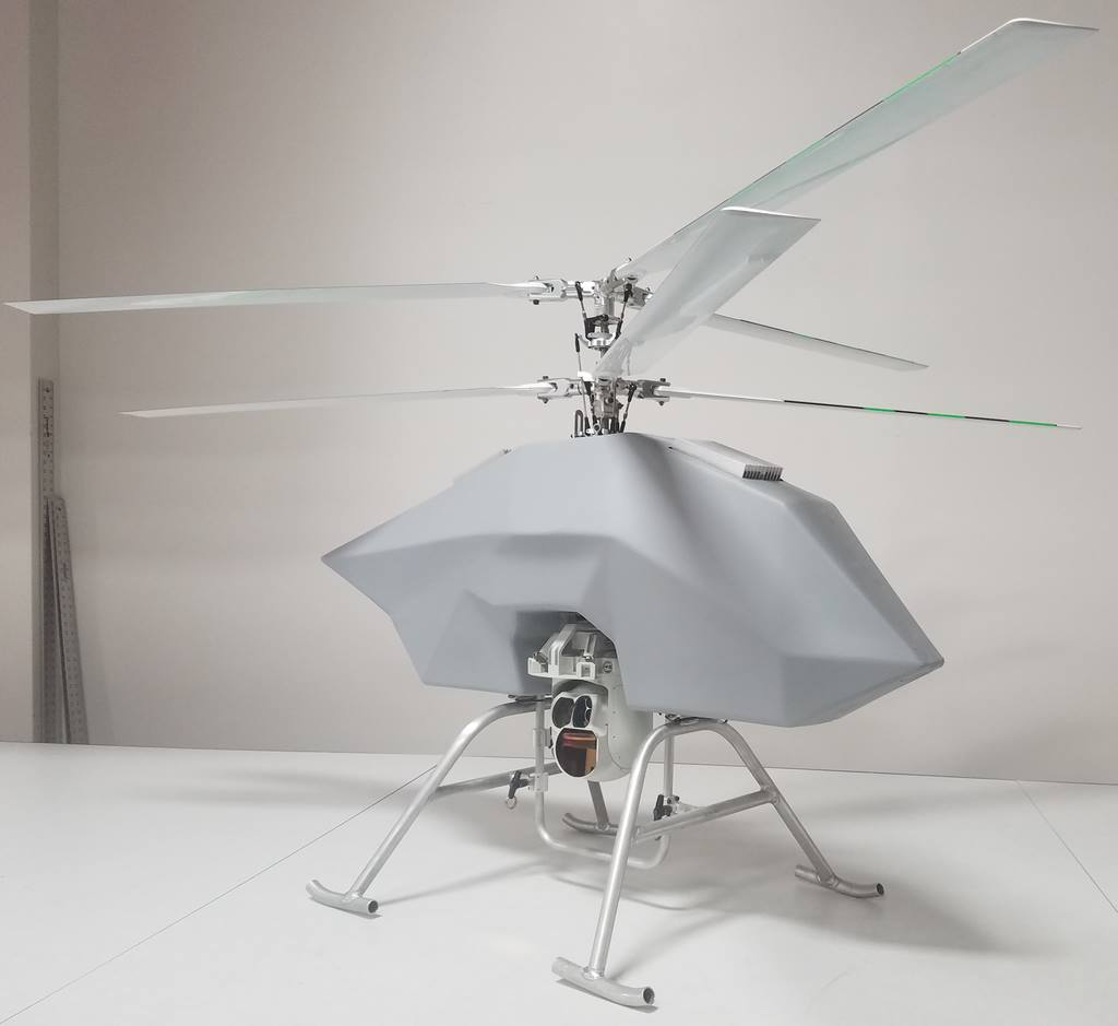 Drone Aviation unveils  new «Bolt» coaxial tethered unmanned helicopter