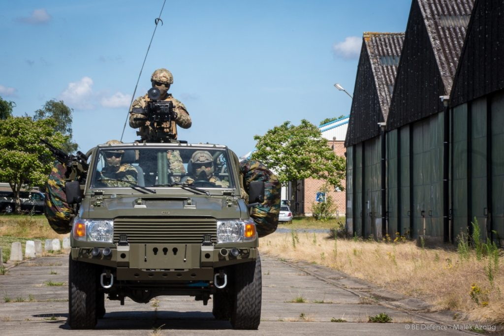 FOX vehicle for Special Operations Forces (c) vandeput.fgov.be