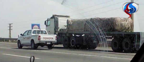 Delivery of the S-300 missiles