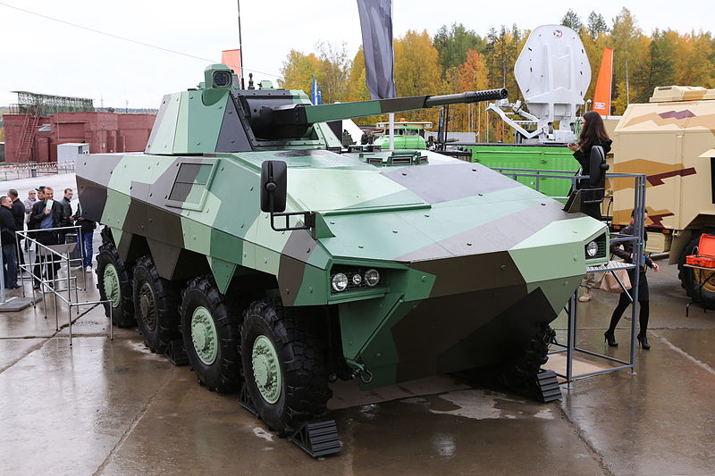 The ATOM at the 2013 Russian Arms Expo