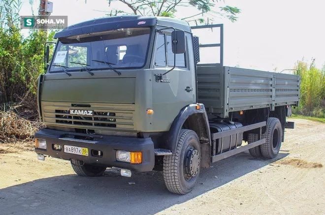 Kamaz-43253. Photo by soha.vn