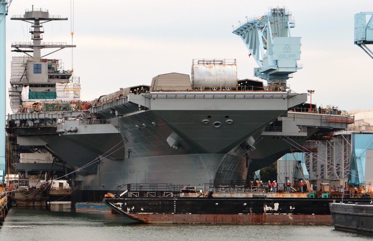 Pentagon orders review of unfinished USS Gerald R. Ford aircraft carrier