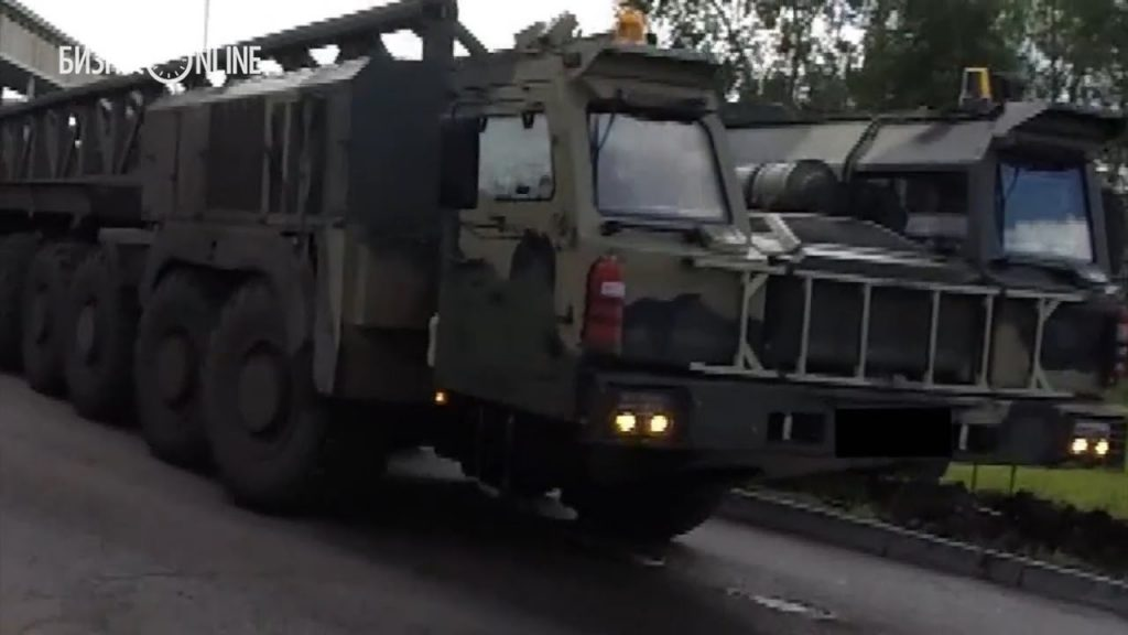 K7850 (also named KAMAZ-7850 «Platform-O» ) 16x16 special wheeled platform for missile systems