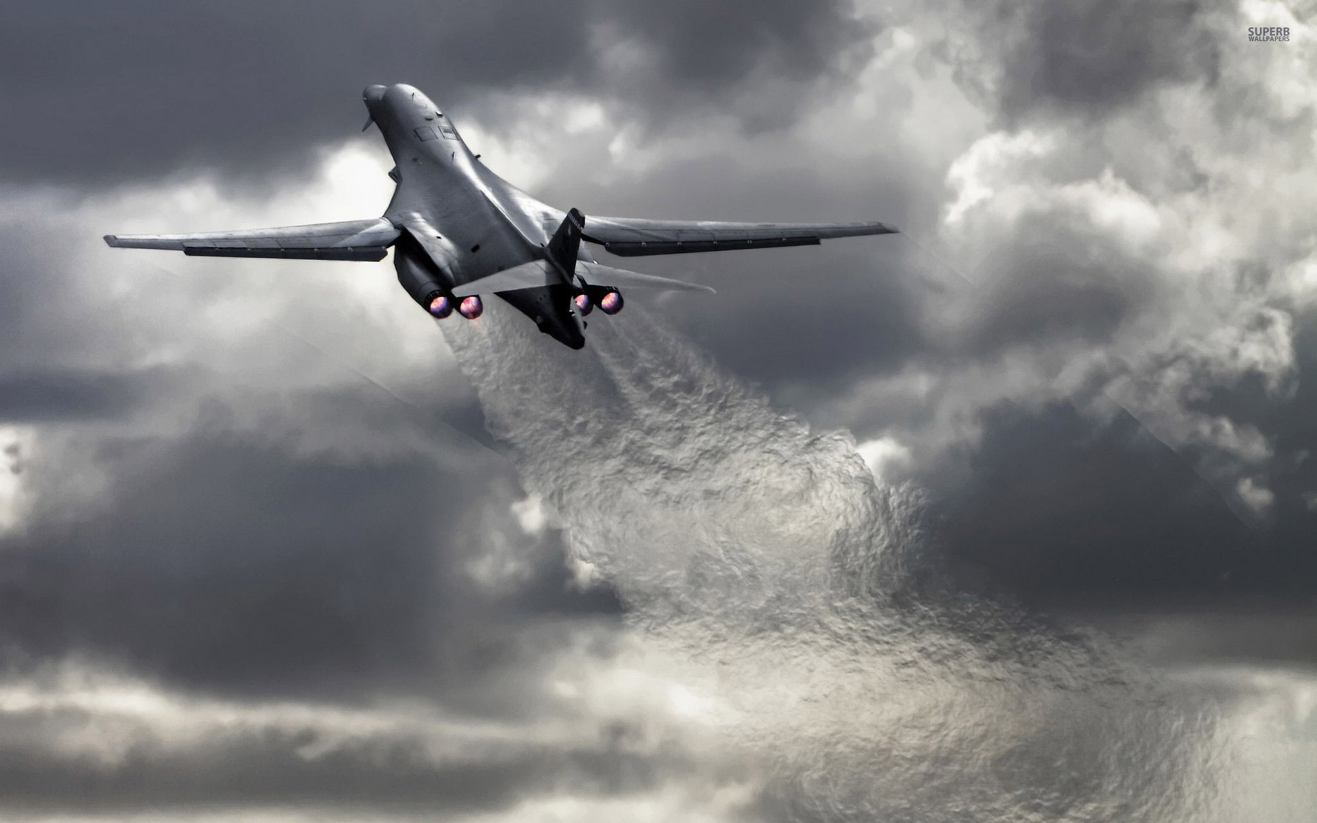 U.S. Air Force to forward deploy B-1B bombers in Guam to ... B1 Lancer Wallpaper