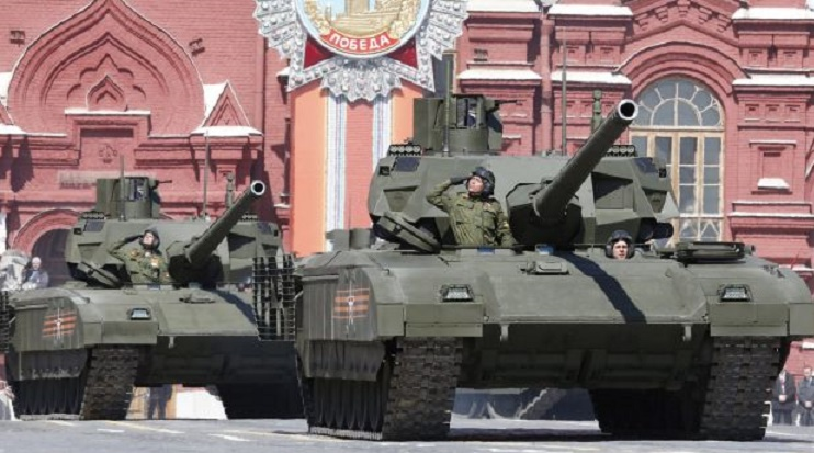 Russia signs contract to deliver over 100 T-14 Armata main battle tanks
