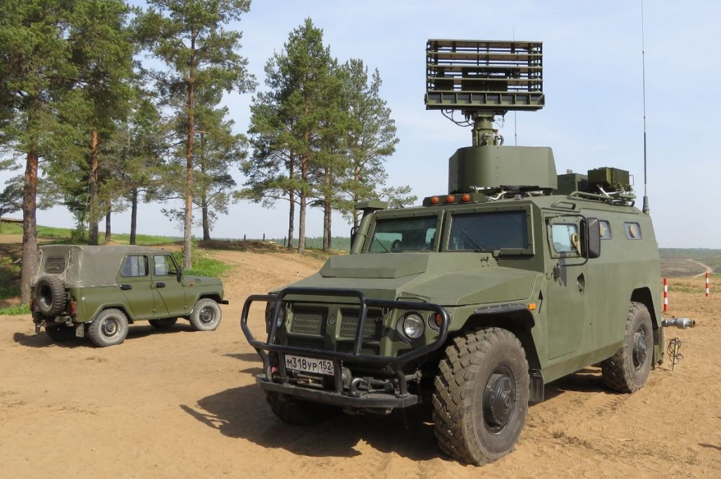 Gibka-S automated air defence command and control vehicle. Photo by kbm.ru