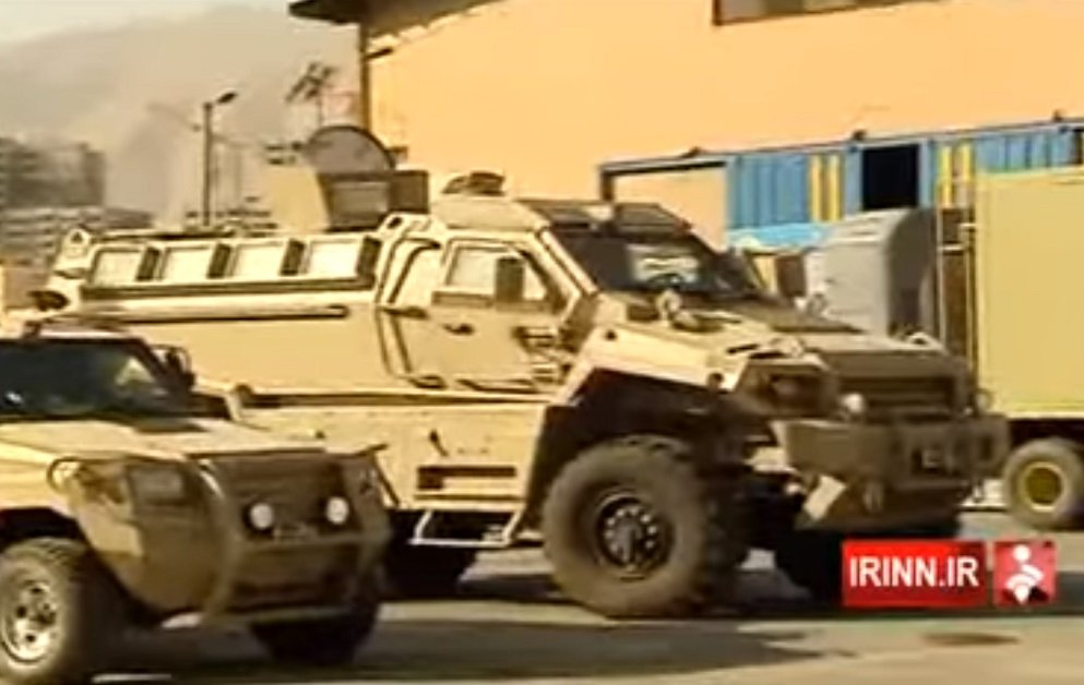 New Typhoon 4×4 mine resistant ambush protected vehicle spotted in Iran