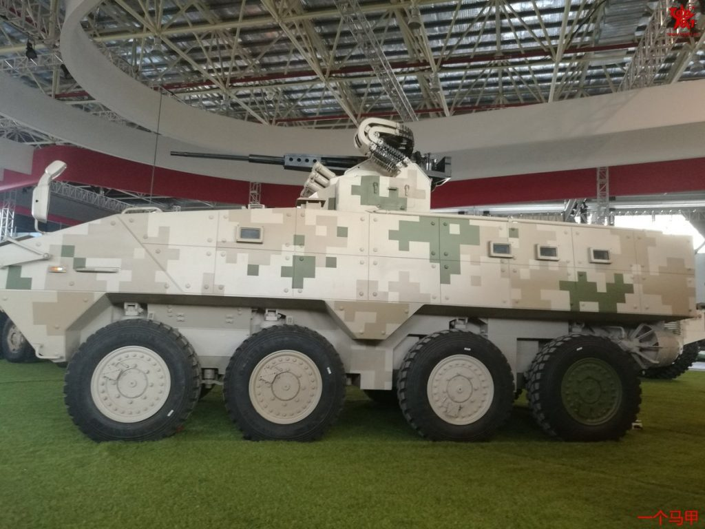 VP10 8x8 armored personnel carrier