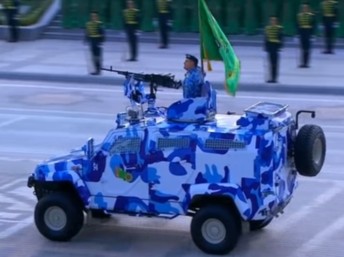 Turkmenistan has ordered to Turkey local-made armored vehicles