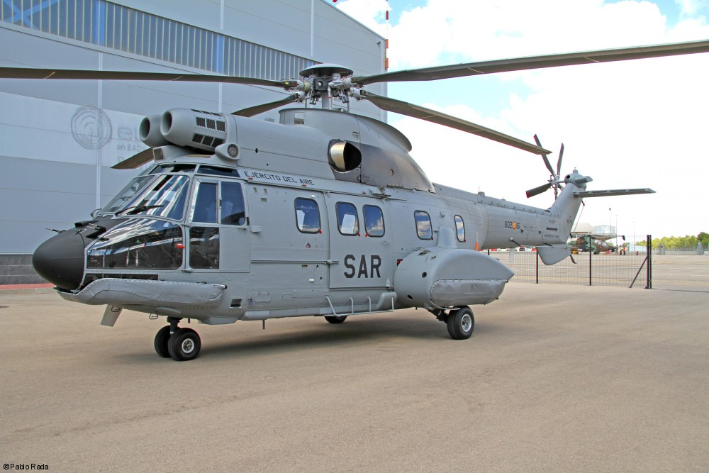 Spanish Air Force takes delivery of its first H215 military helicopter