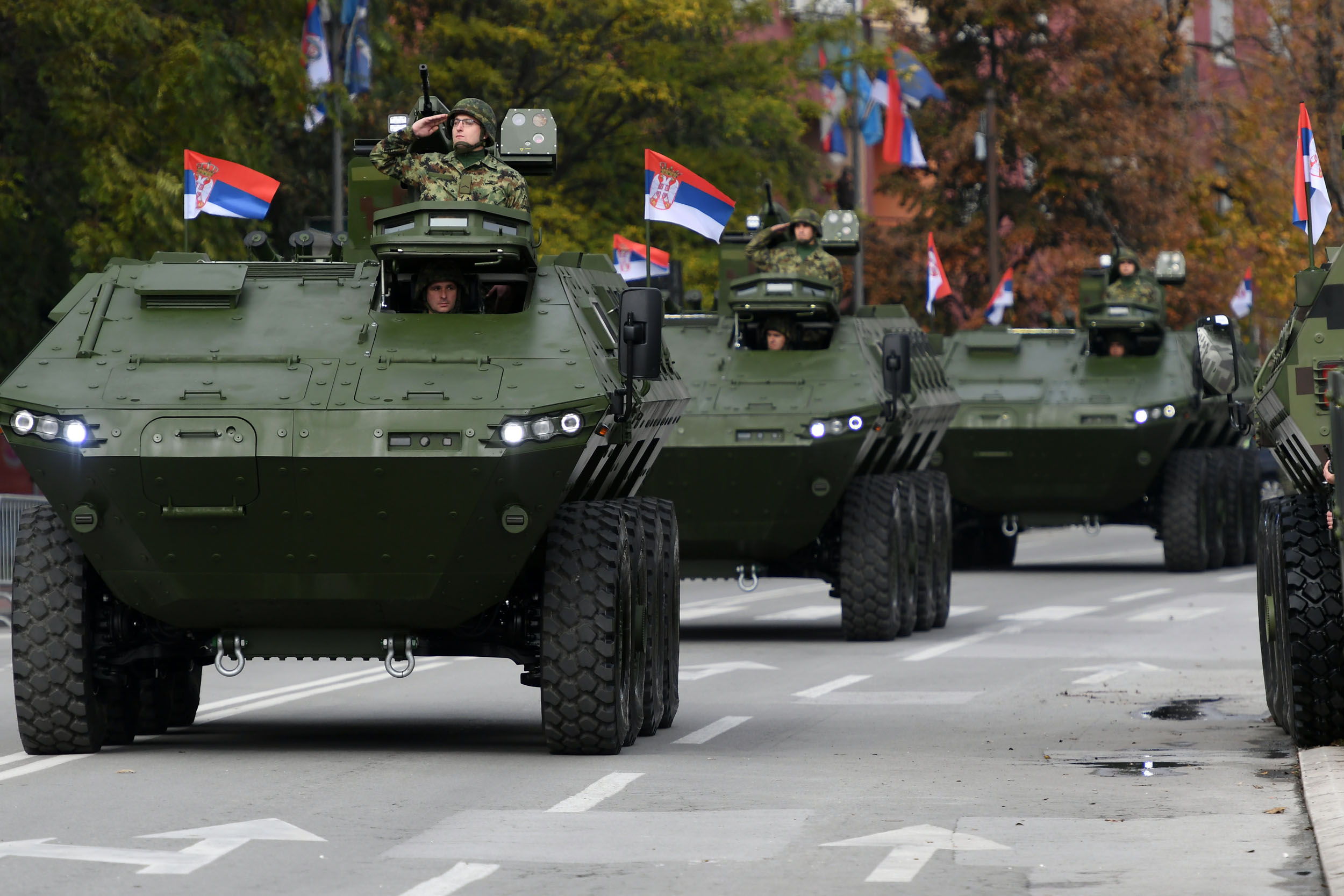 Serbian Army orders six new Lazar-2 multi-purpose armored vehicles ...