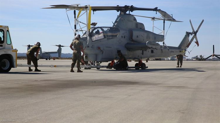 Vipers on the move: HMLA-267 deploys to Okinawa
