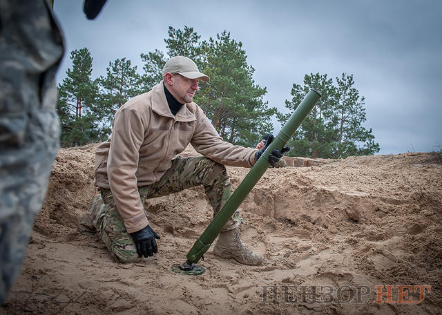 New Ukrainian weapons passed testing at the firing ground of the Armed Forces