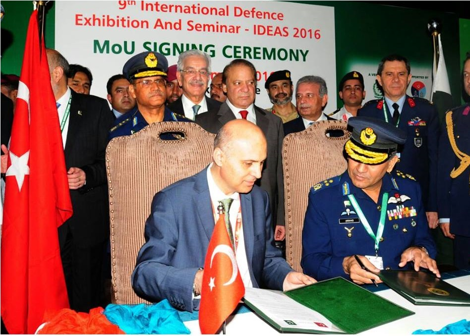 Pakistan and Turkey sign an MoU for the sale of Super Mushshak aircraft