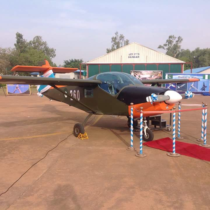 Nigeria celebrates delivery of first Super Mushshak basic trainer from Pakistan