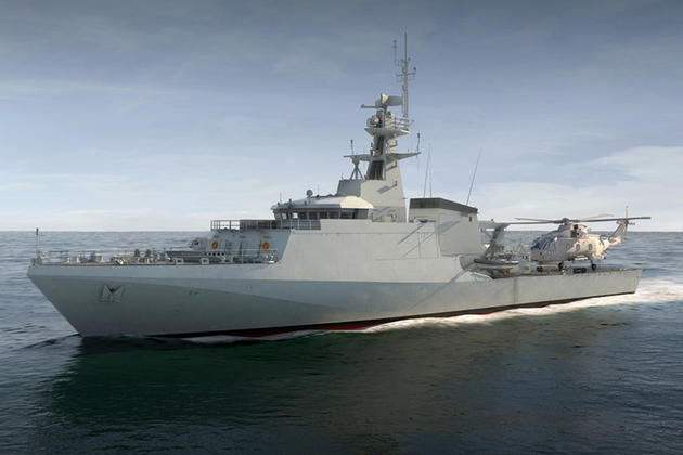 UK  signs £287M contract to build two more Offshore Patrol Vehicles