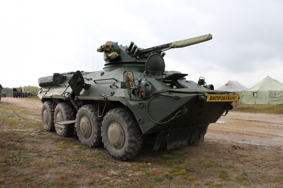 Ukrainian Armed Forces receives 50 BTR-3 armored vehicles