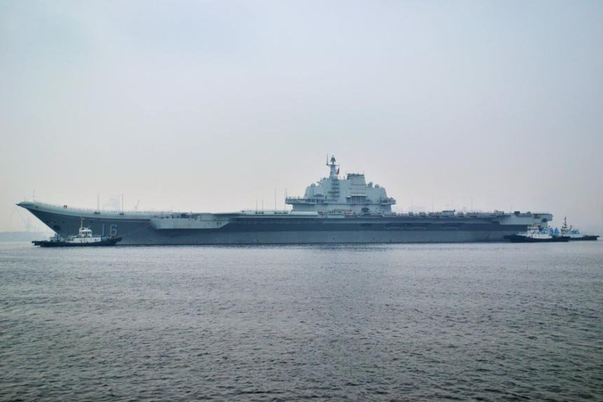 china aircraft carrier