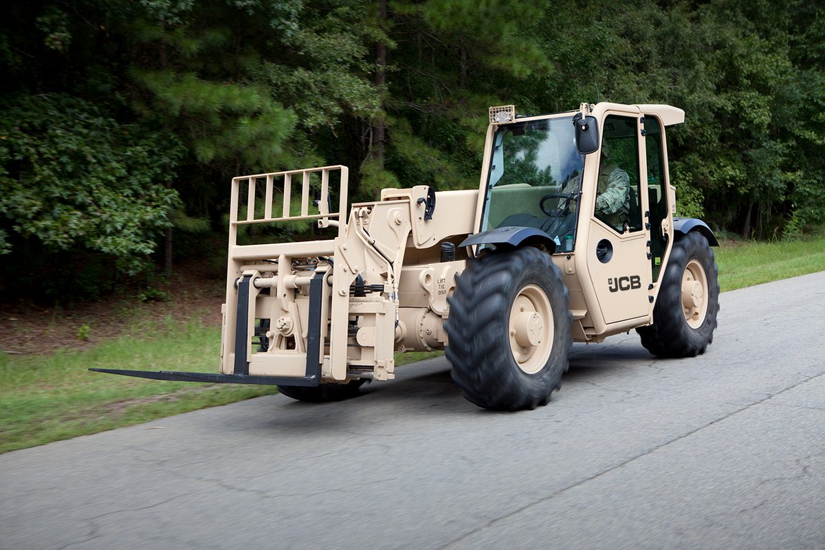 U.S. Army places $142 million new year order for JCB machines
