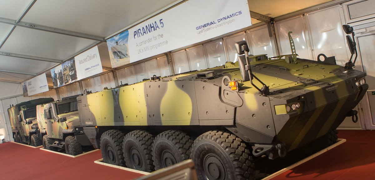 General Dynamics showcases its innovative solutions for UK military vehicle programmes