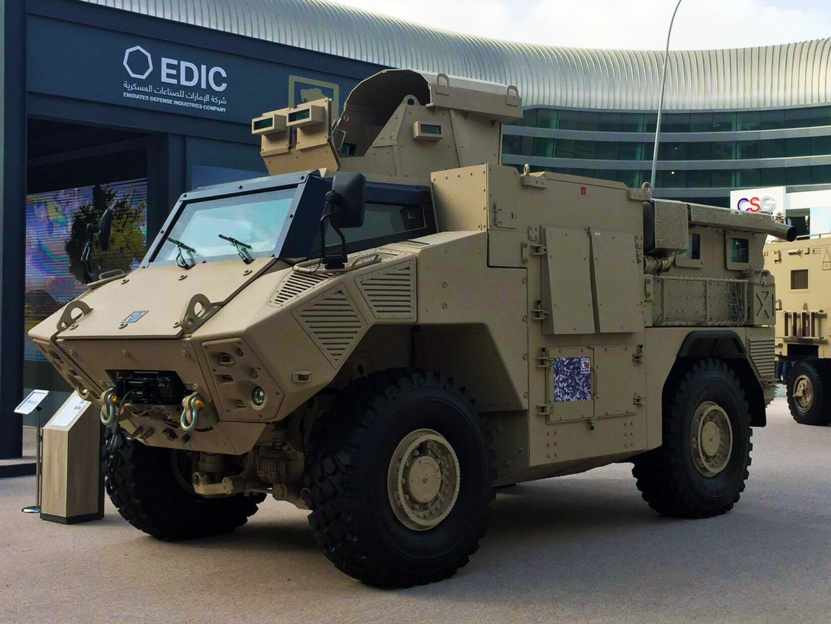 UAE ordered 1750 armored vehicles for its army from NIMR Automotive