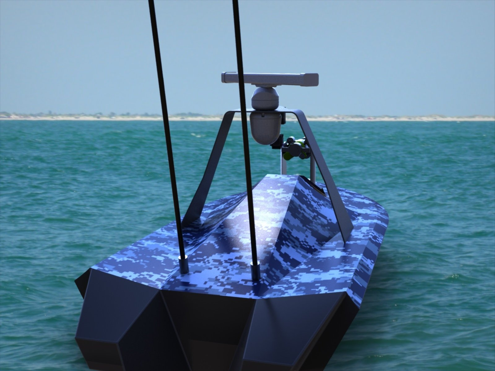 Challenger Aerospace Barracuda USV