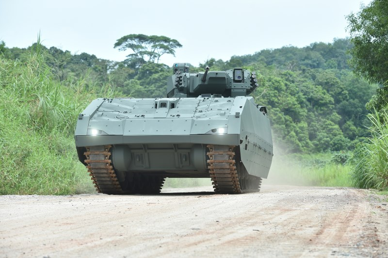 Singapore Ministry of Defence signs contract for next generation armoured fighting vehicle