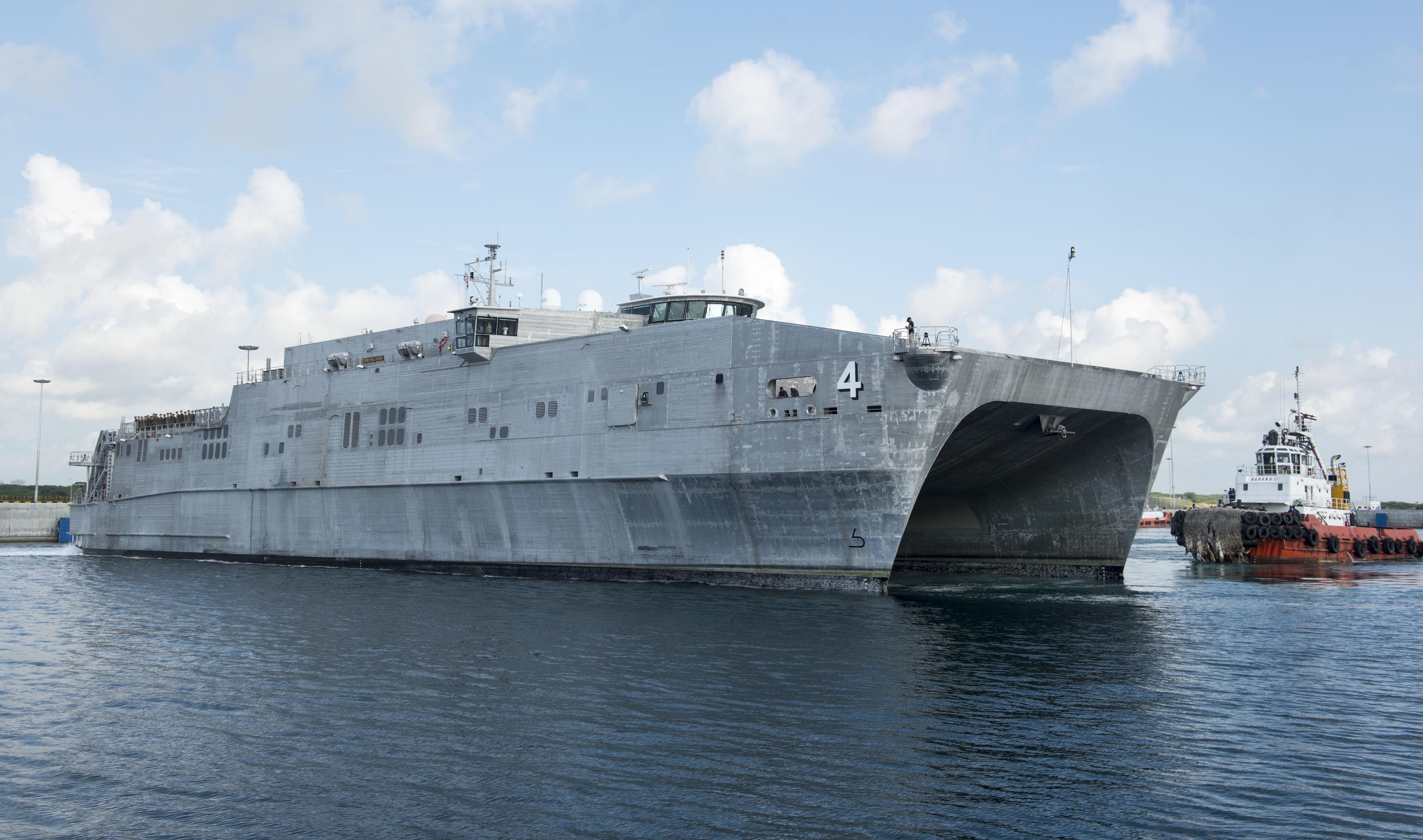 U.S. expeditionary fast transport ship makes goodwill visit to Myanmar