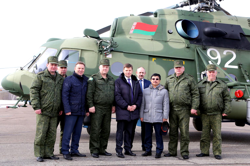 Belarusian army to get second batch of Russian Helicopters in April