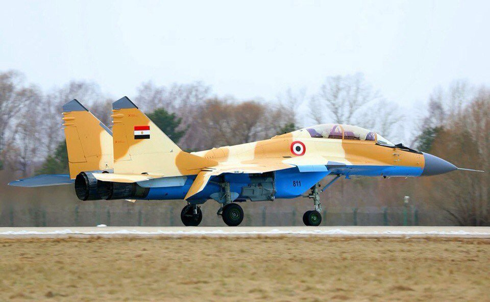 Egypt takes delivery of first MiG-29 fighter jets