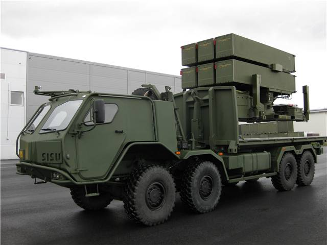 Australia selects NASAMS air-defence system