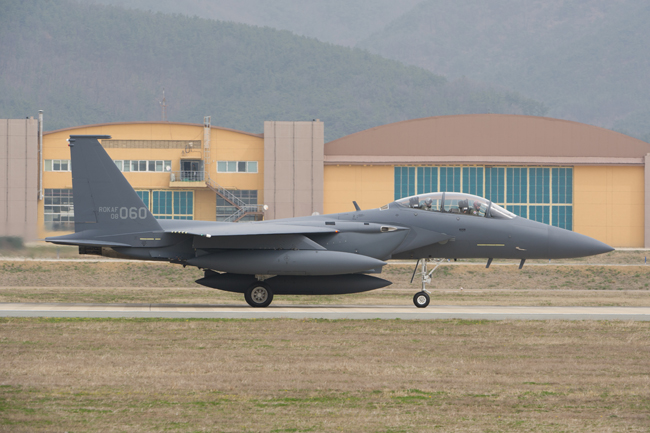 More than 100 warplanes take part in a U.S.-South Korea joint exercise