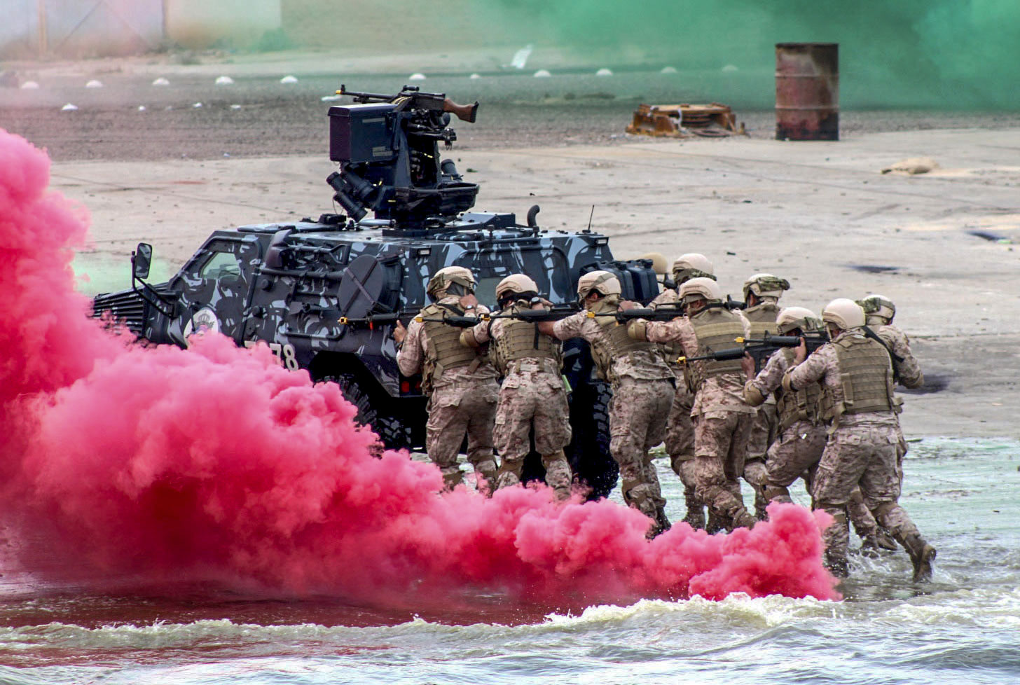 Multinational forces wrap up exercise Eagle Resolve 2017 in Kuwait