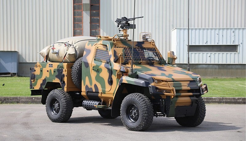 Otokar unveils Ural armoured single cab Pick-up for the first time at IDEF 2017