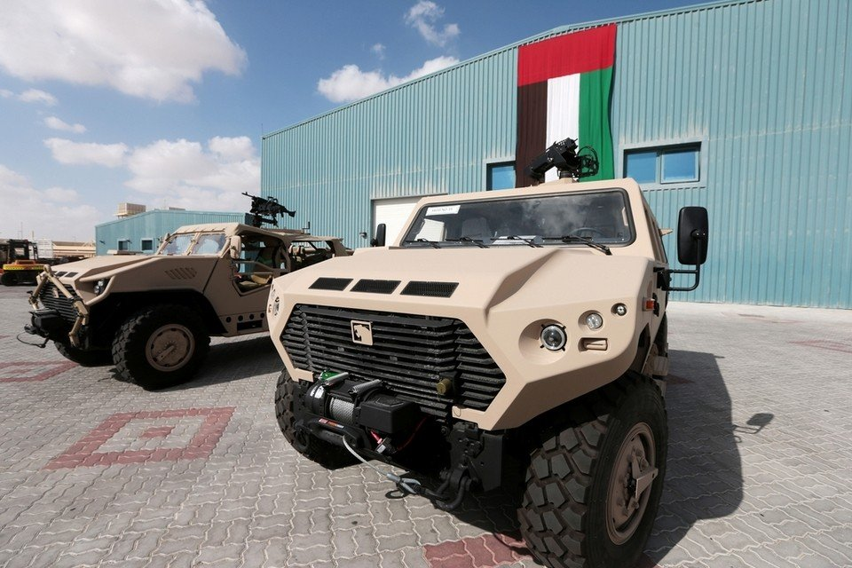 NIMR Automotive participating in the International Armoured Vehicles conference in Amman