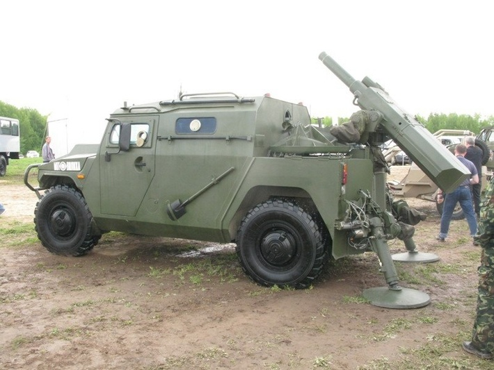 Russia unveils new mobile mortar system mounted on Tigr vehicle