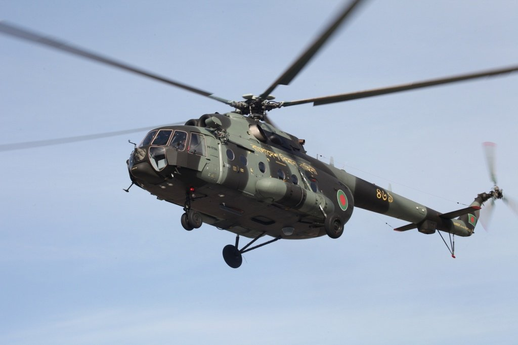 Bangladesh orders five Russian Mi-171Sh military transport helicopters