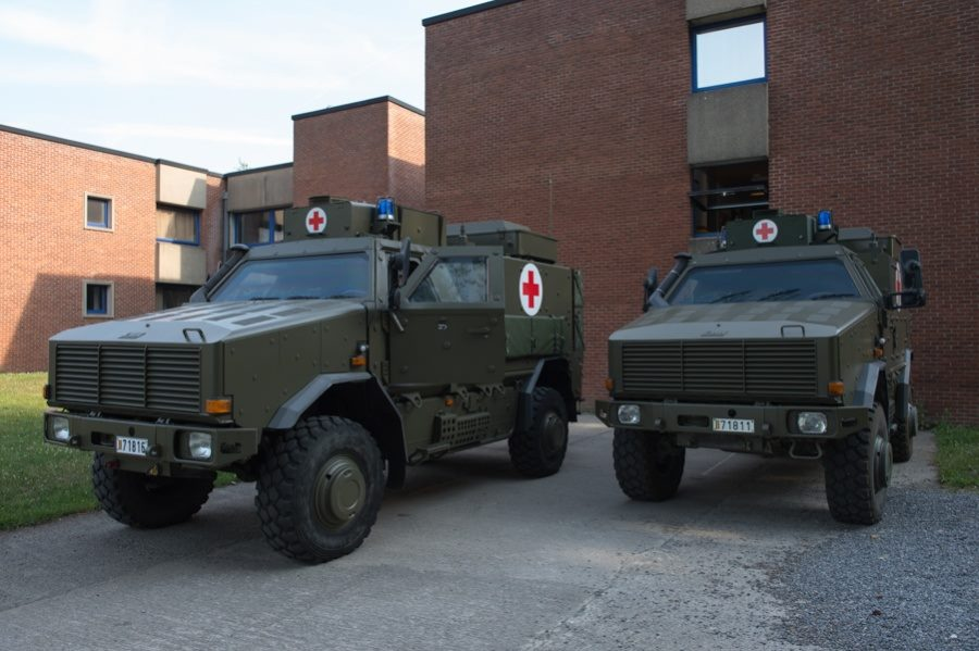 Belgian Armed Forces to receive improved version of DINGO 2 Ambulance