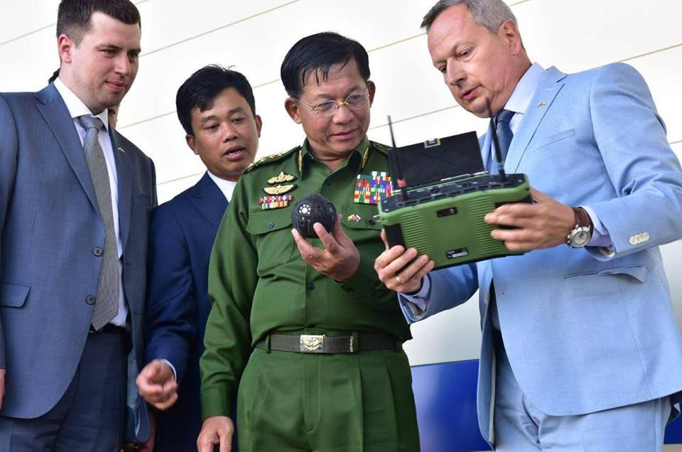 Myanmar show interest in Russian Unmanned Ground Vehicles