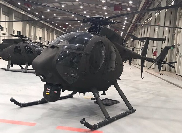 Saudi National Guard receives first batch of Boeing AH-6SA Little Bird helicopters