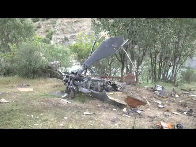 13 soldiers killed in military helicopter crash in Turkey