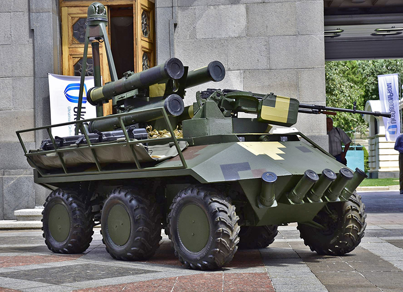 UkrOboronProm demonstrates advanced military developments to NATO representatives