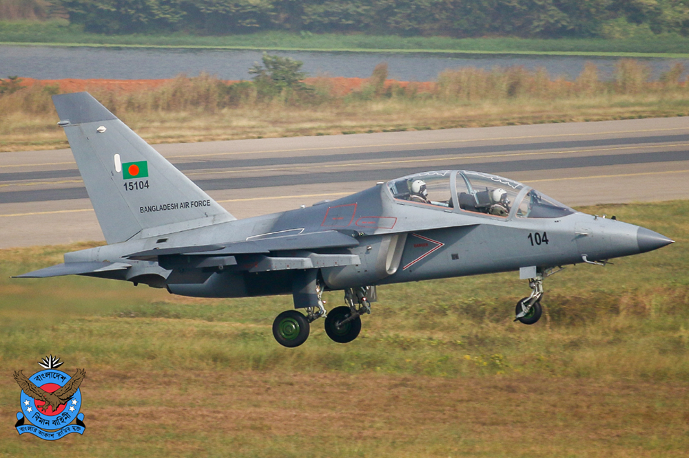 Russia-made Yak-130 aircraft crashed in Bangladesh