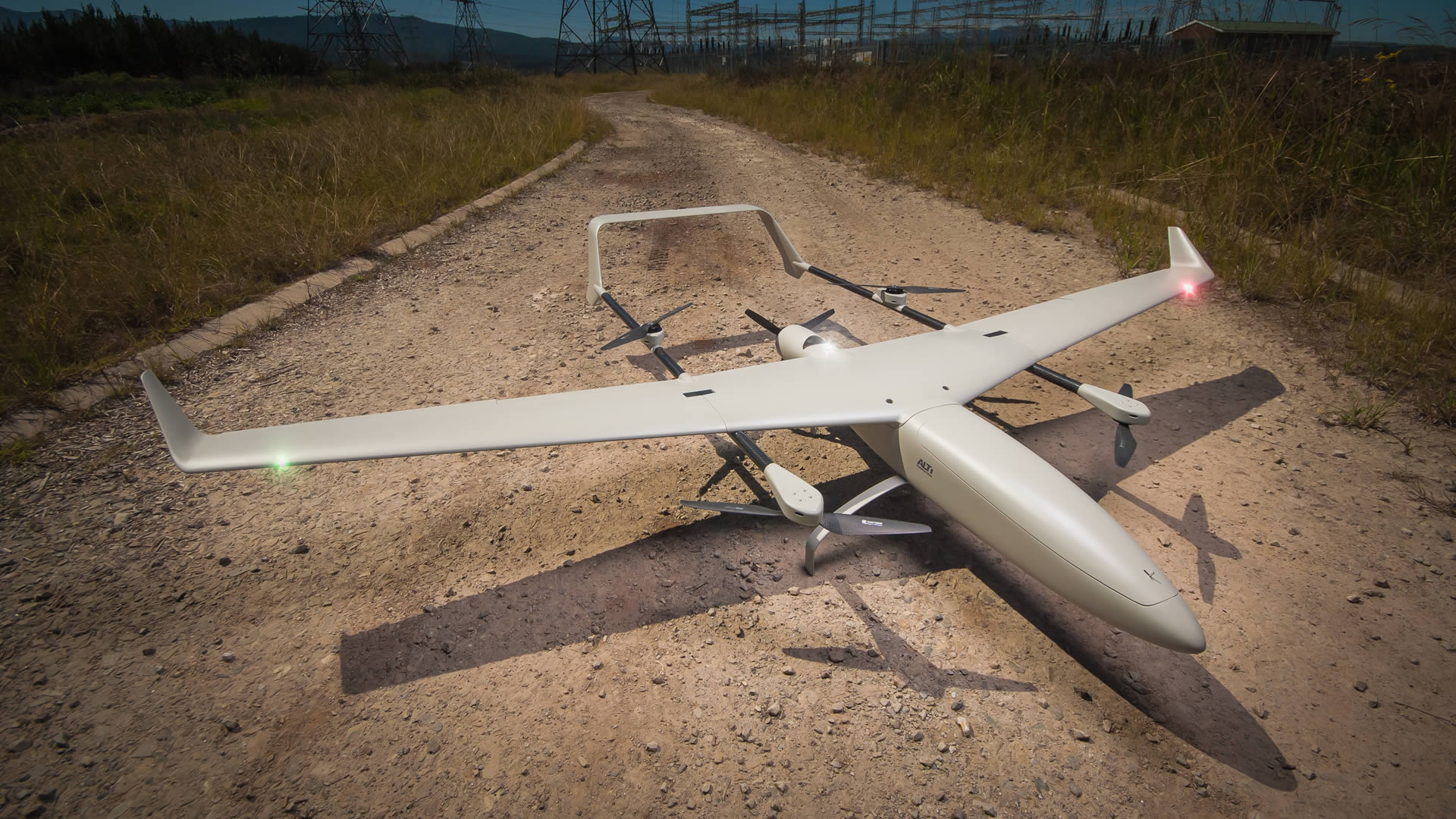 ALTI Transition hybrid drone – ideal for countries with reduced military budget