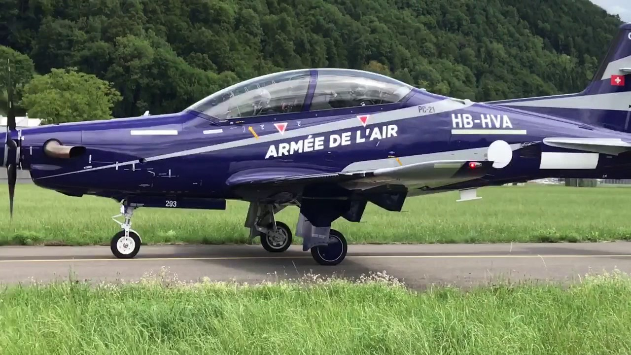 First Pilatus PC-21 of French Air Force makes maiden flight