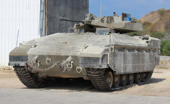 Israel unveils improved Namer APC for for urban warfare