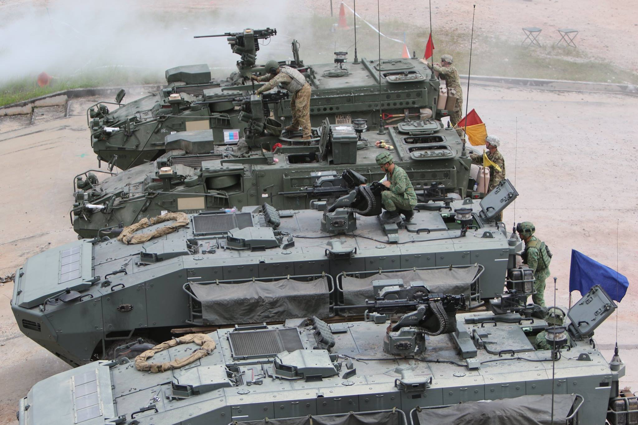United States and Singapore conducted biggest army exercise