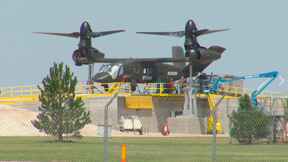 The Aviationist release first image of Bell V-280 Valor tilt-rotor aircraft prototype